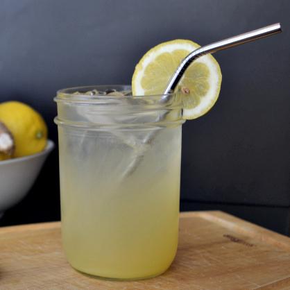 Lemon Ginger Detox Mocktail